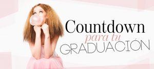 Countdown para tu graduación