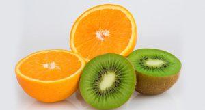 Dos frutas para producir colágeno