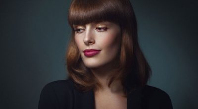 mujer francesa guapa