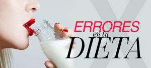 Errores en tu dieta