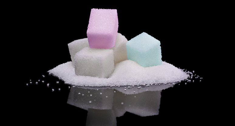 Cubos de azúcar exfoliante