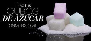 DIY: cubos de azúcar para exfoliar