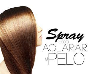 Spray para aclarar el pelo