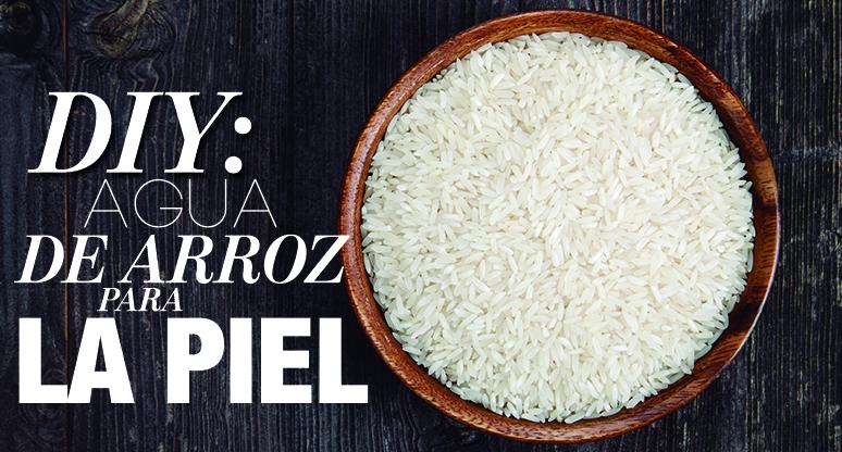 DIY: Agua de arroz para la piel