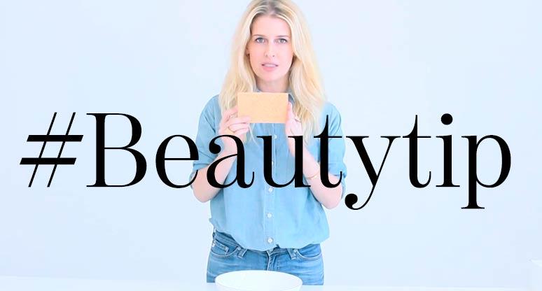 #BeautyTip Lava tu piel con esponjas