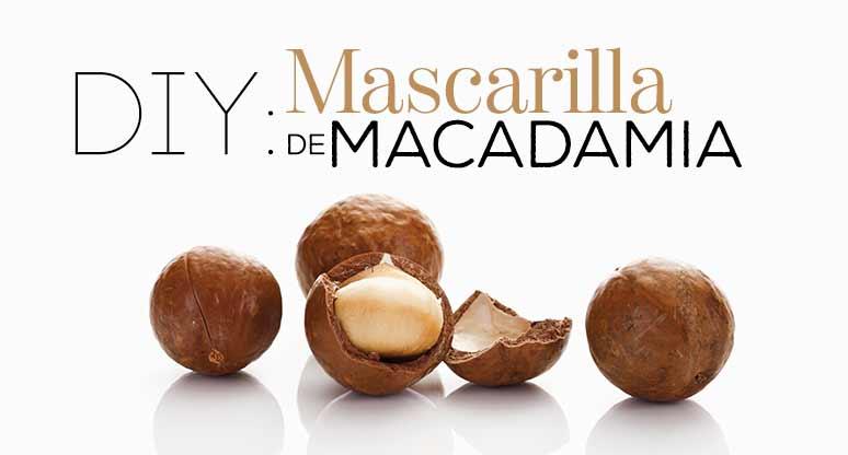 DIY: Mascarilla de macadamia