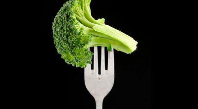 tenedor con brocoli