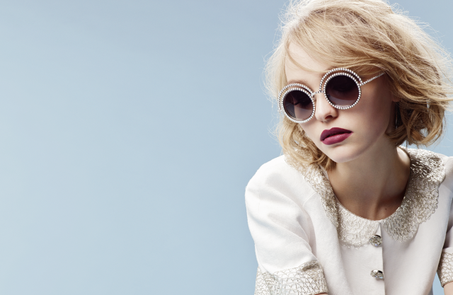 Eyewear - The Pearl collection - Ad campaign by Karl Lagerfeld