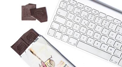 Chocolate y teclado