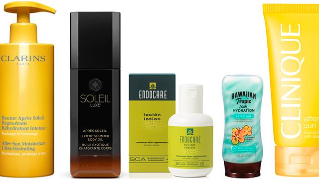 Productos para calmar la piel