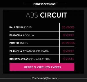 Rutina de ejercicio para abdomen