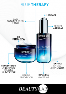 Beneficios de Blue Therapy de Biotherm