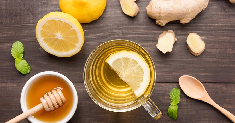 te con limon miel