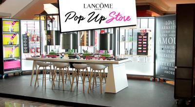 Lancome pop up store