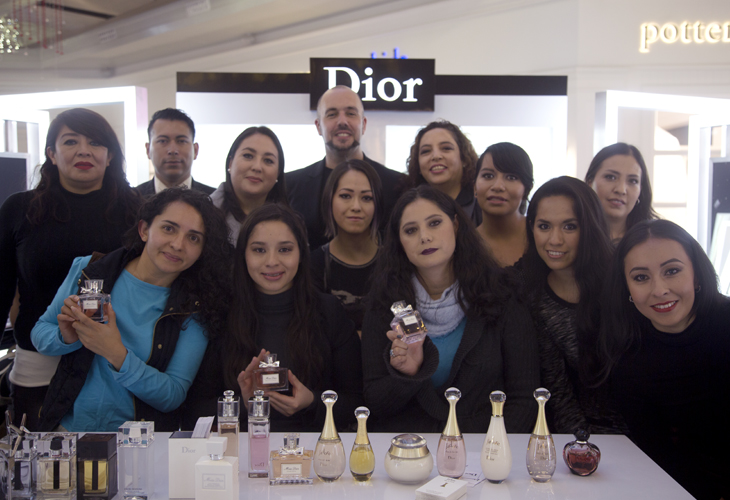 Beauty fans dior mini