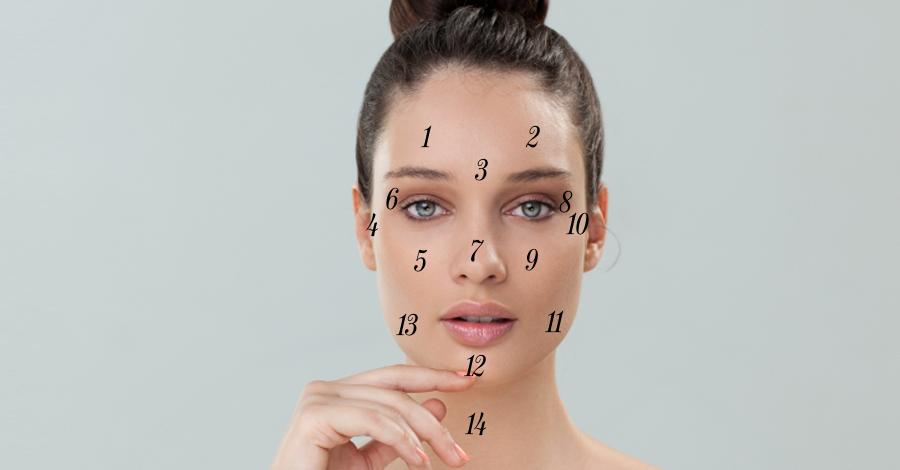 lo que te dicen los granitos de la cara