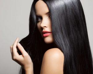 mujer pelo negro