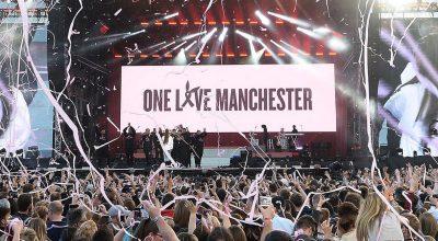escenario del one love manchester