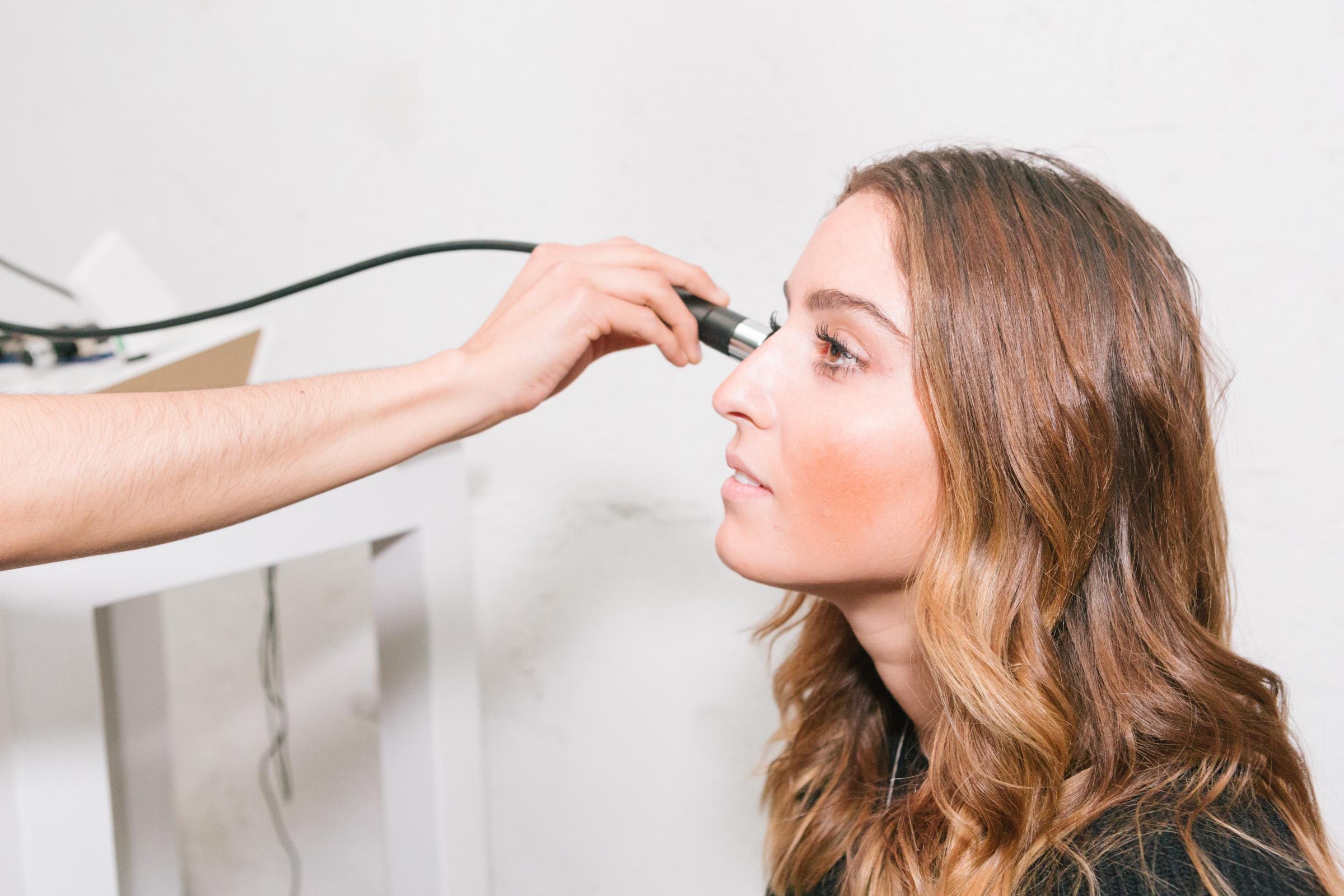 Diagnostico de piel en el Beauty Lab