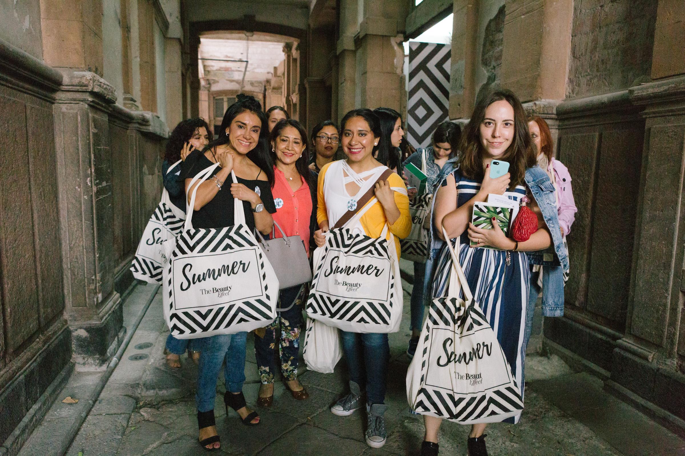 Todas se fueron felices con su beauty bag