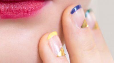 Manicure de colores de verano