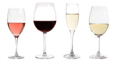 copas con distintos vinos