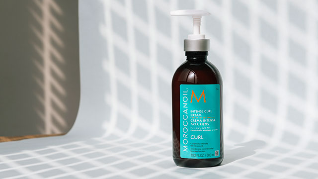 Intense curl cream moroccanoil