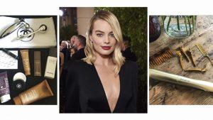Maquillaje y peinado Margot Robbie golden globes
