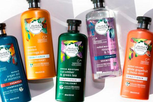 Línea bio:renew de Herbal Essences