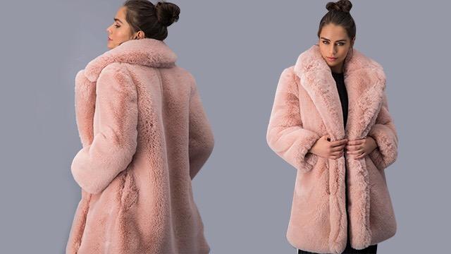 Rosa Maxi Faux Fur