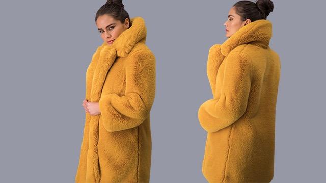 Amarillo Maxi Faux Fur