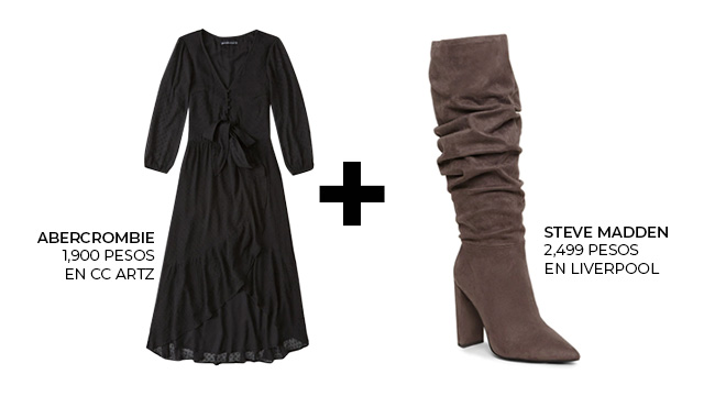 Vestidos Botas El Outfit La Temporada The Beauty Effect